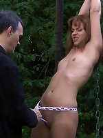 Outdoor Slave Training